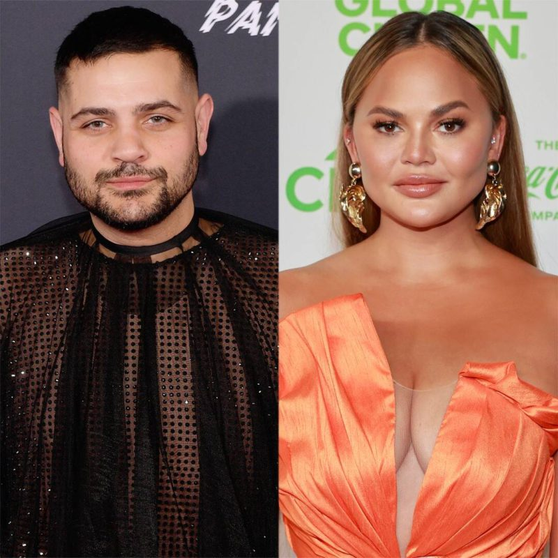 Designer Michael Costello says he had suicidal thoughts about Chrissy Teigen's bullying