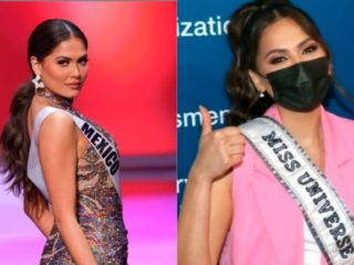 Andrea Meza, Miss Universe 2021, is vaccinated against COVID-19