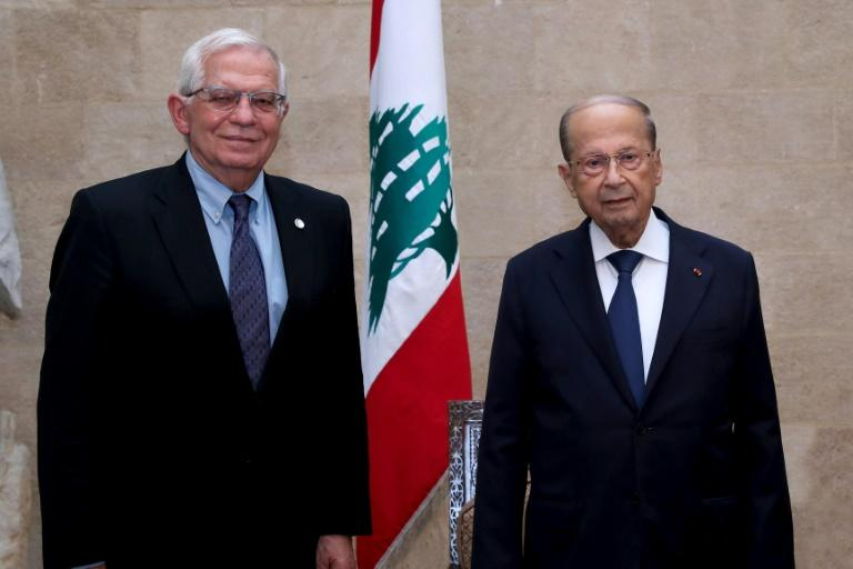 """EU calls for Lebanon's """"urgent"""" deal with the IMF"""
