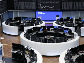 European stocks hit new record after ECB improves recovery outlook