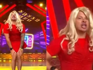 """""""This is war"""": Mario Hart and his hilarious imitation of Susy Díaz in a red dress    VIDEO"""