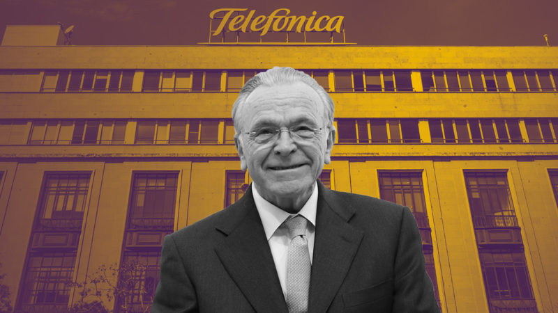 Fainé resumes its commitment to Telefónica and Criteria buys shares for the first time since October
