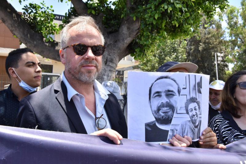 For the freedom of Moroccan journalists Soulaiman Raissouni and Omar Radi