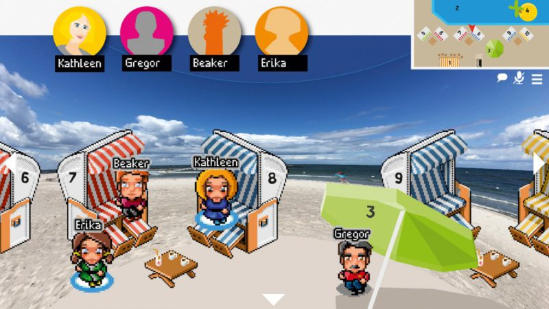 Free online interaction platforms for virtual group meetings in the test