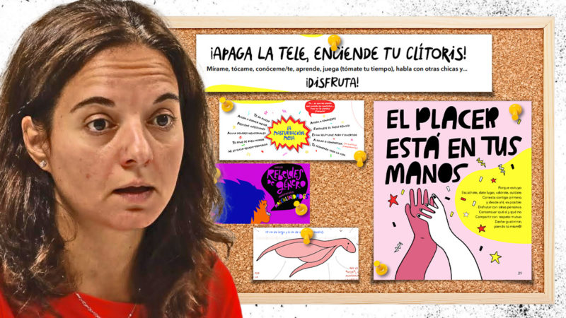 Getafe Elementary School students receive sexual guides whose authors acknowledge that they are not for children