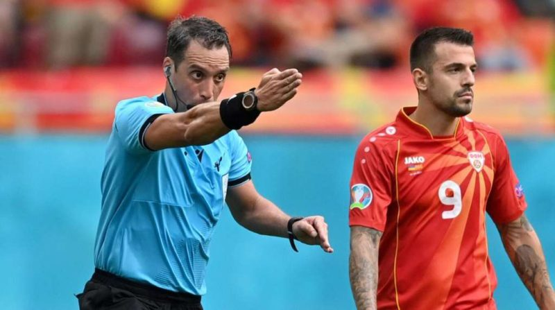 Historical participation of the Argentine referee Fernando Rapallini in the Eurocup