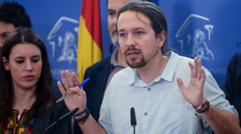 Iglesias will not be able to be a candidate in Madrid if he does not resign before March 31