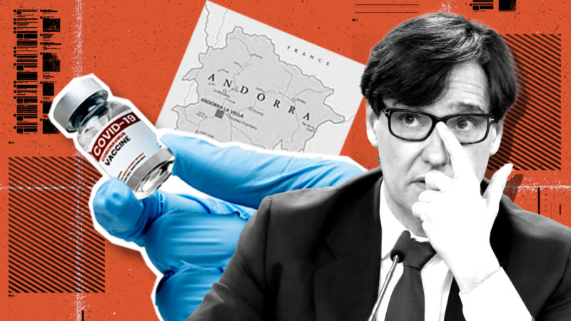 Illa resells 30,000 vaccines to Andorra where 13,937 Catalans live with voting rights