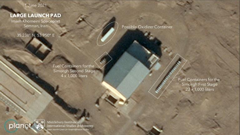 Iran failed to send a special satellite in mid-June, says US