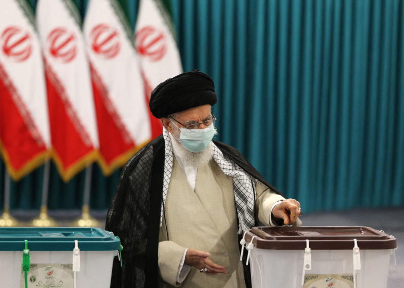Iran goes to the polls in a presidential election dominated by conservatives and under the shadow of the covid