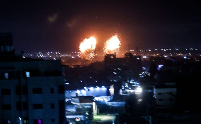 Israel's new government orders to attack Gaza for the first time since ceasefire