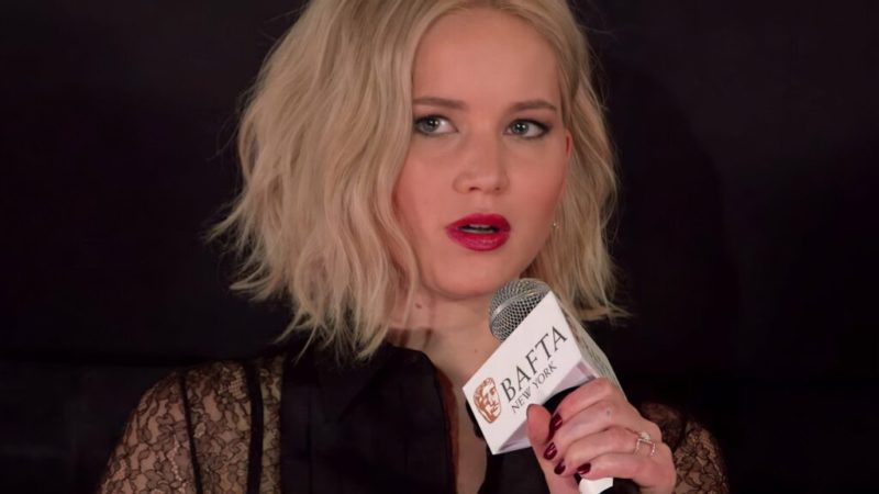 Jennifer Lawrence made a harsh political criticism in her latest activist movement