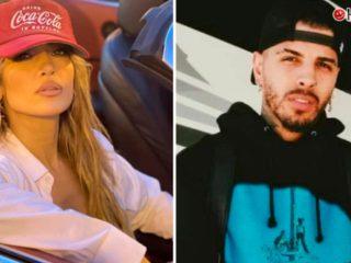 Jennifer Lopez and Rauw Alejandro, caught in Miami recording a video clip