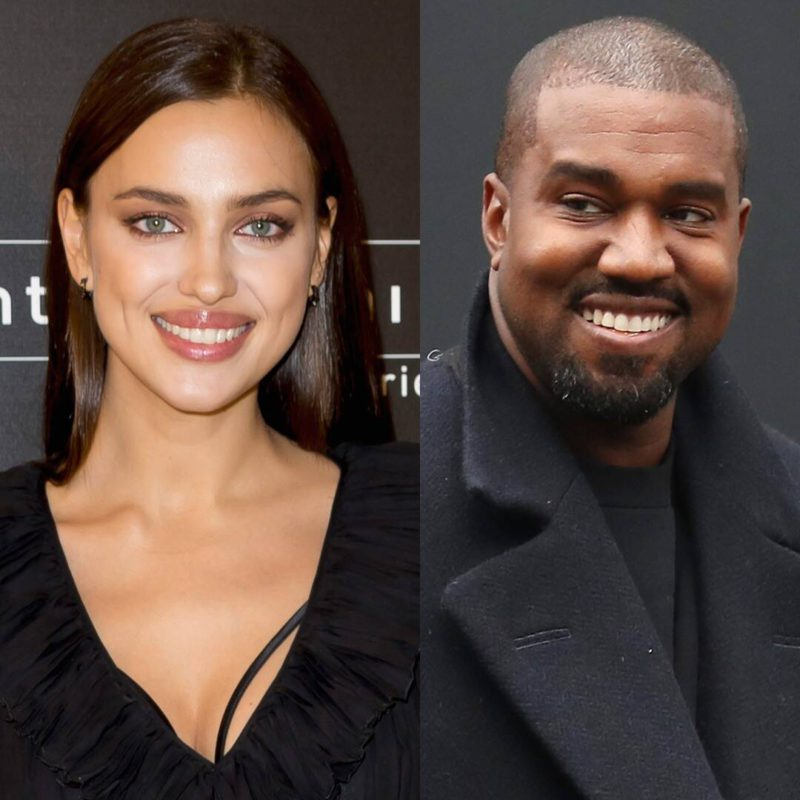 Kanye West and Irina Shayk were seen together for the first time after their vacation in France