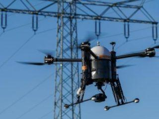 Laser cannon shoots drones