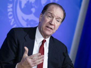 El presidente del Banco Mundial, David Malpass, el 4 de marzo de 2020 en Washington