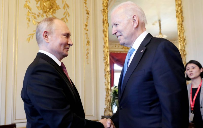 Man without a soul, quotes from Tolstoy: Putin and Biden, two old adversaries