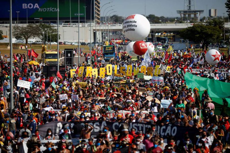Massive marches against Jair Bolsonaro in Brazil: demand for the management of the pandemic