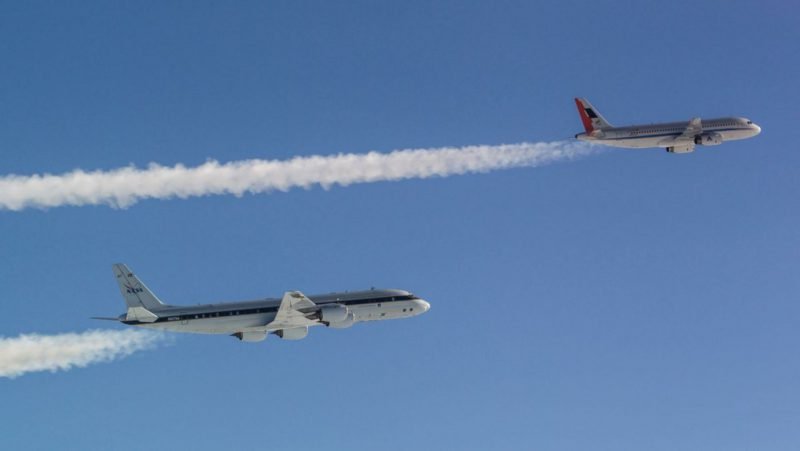 """""""More climate-friendly aviation"""": Fuels can reduce contrails"""