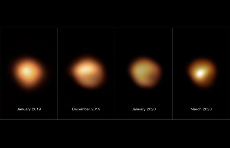 """""""Mystery solved"""": But dust cloud responsible for the darkening of Betelgeuse"""