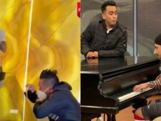 """""""JB en ATV"""" lists a parody of the viral video of Gianluca Lapadula """"playing"""" piano with Christian Cueva"""