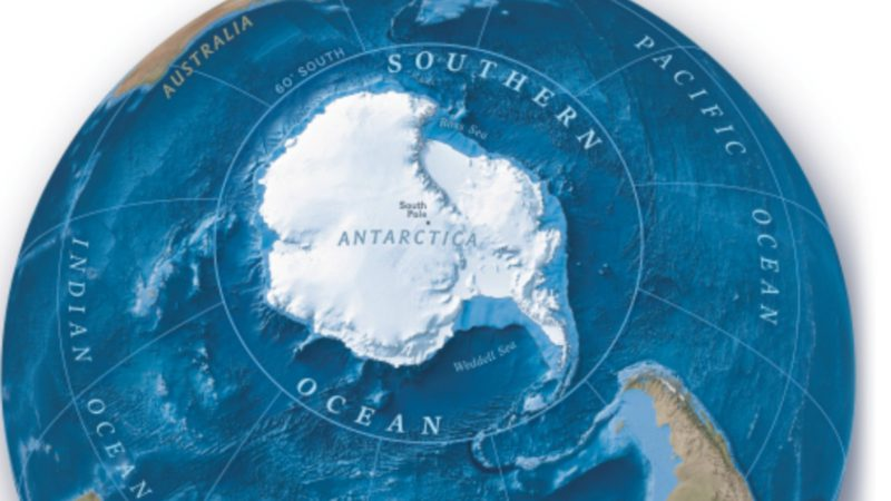 National Geographic recognizes a new ocean in the world: the Southern Ocean