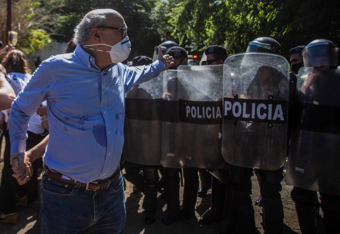 Nicaraguan police raid the home of journalist Carlos Fernando Chamorro