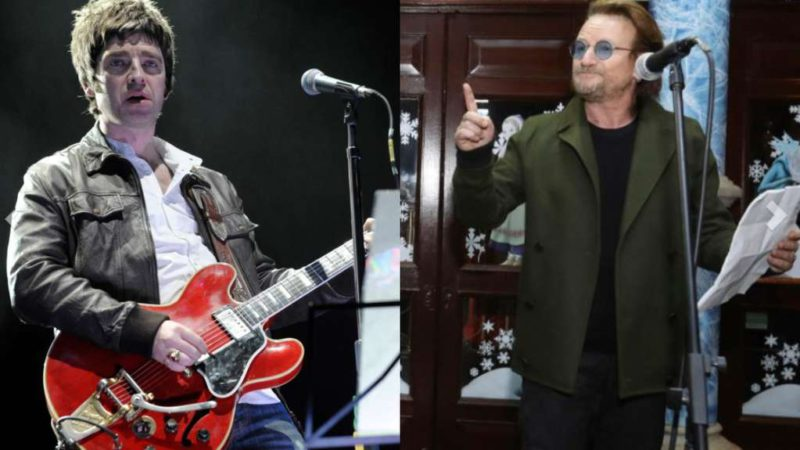 Noel Gallagher talked about Bono and surprised with his theory of why people don't want him