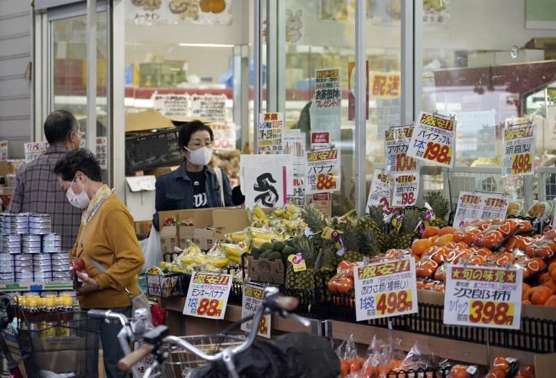 Prices in Japan rise 0.1% in May for the first time in 14 months