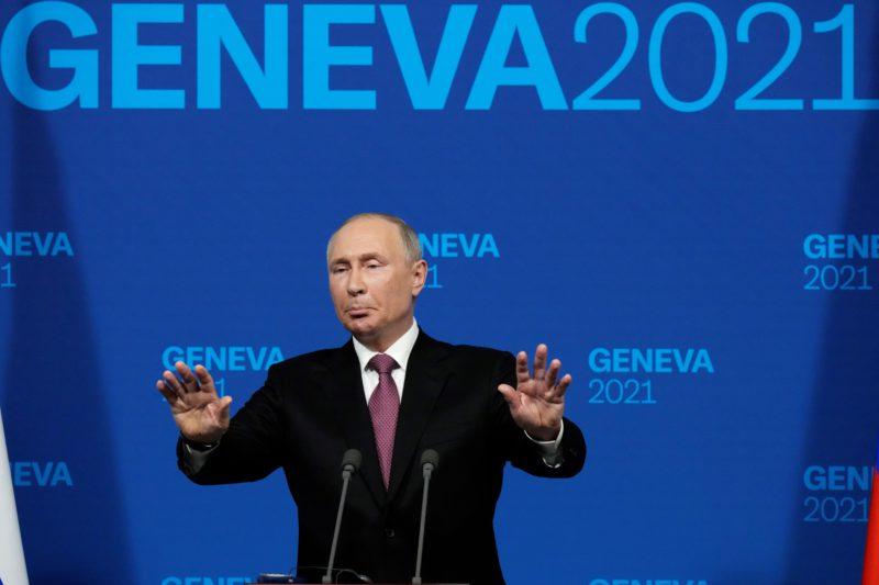 Putin seeks to gain ground at home after summit with Biden