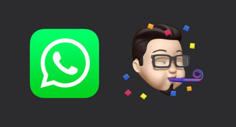 How to send iPhone memojis in your WhatsApp conversations
