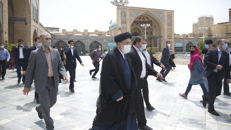 Raisi overwhelmingly leads the first official results of the Iranian presidential elections