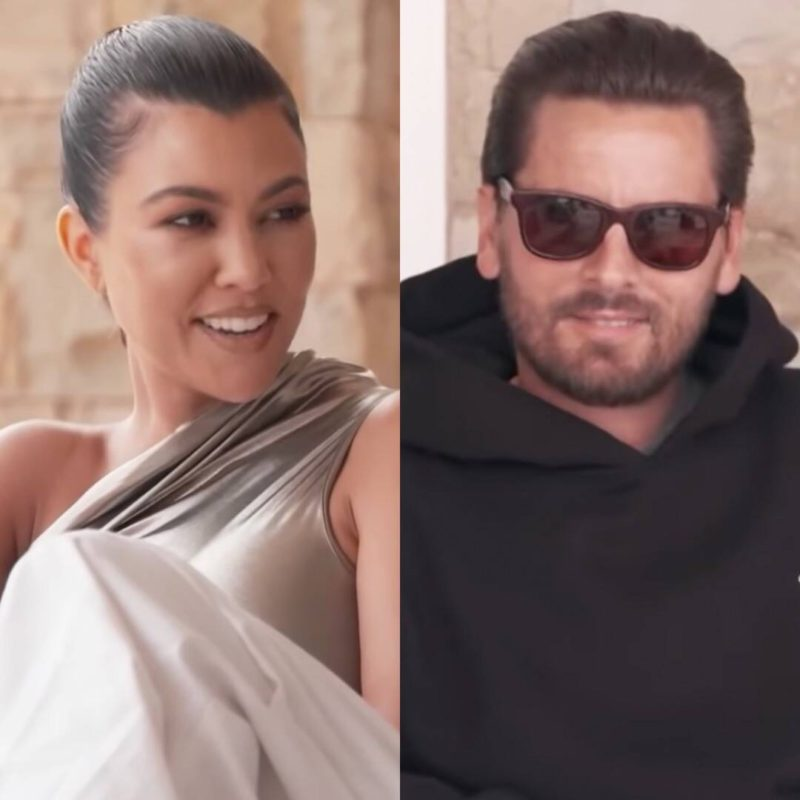 Scott Disick declares his love for Kourtney Kardashian and asks about her future