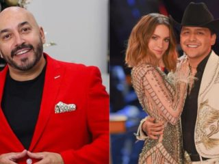 Belinda: Lupillo Rivera revealed part of the design with which the singer's tattoo was covered