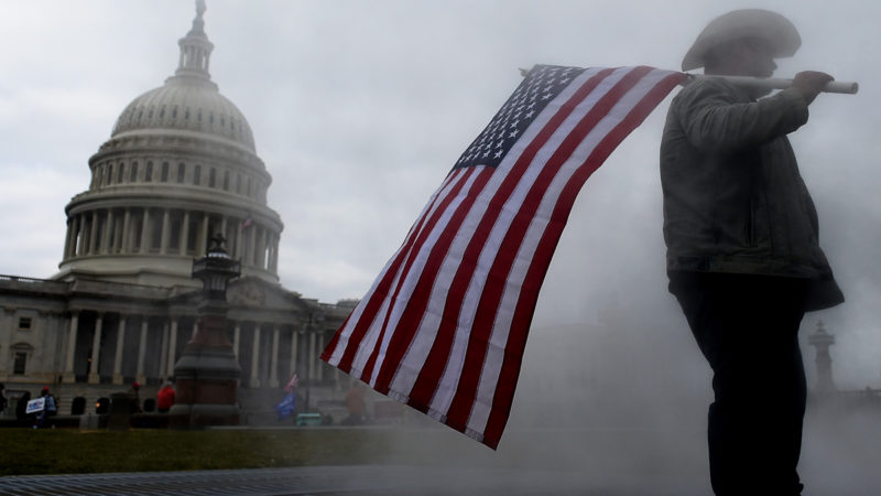 The Capitol is armored against a possible assault such as that of January