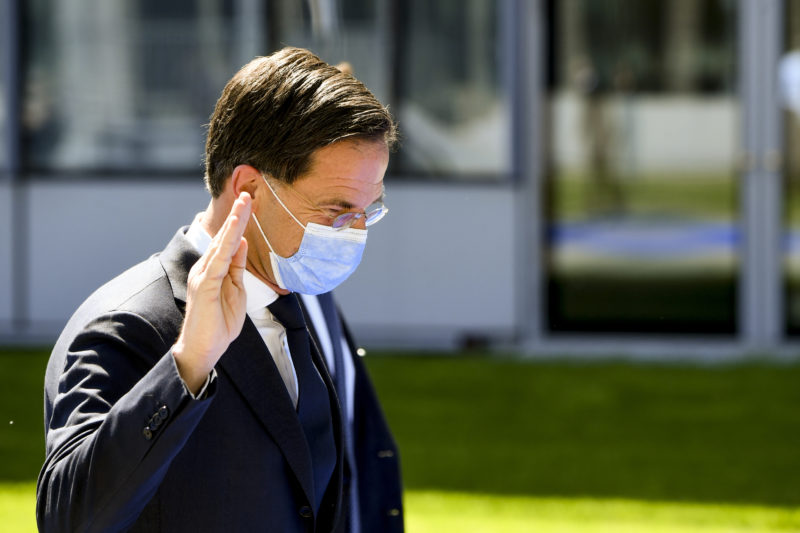 The Dutch parties are reluctant to agree with Rutte