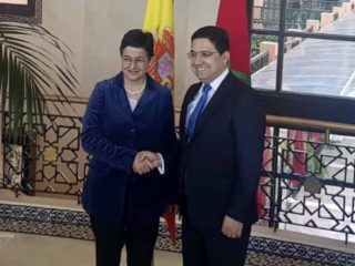 The Foreign Ministers of Morocco and Spain stage the good relationship between both nations