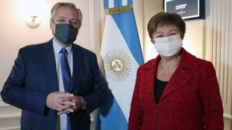 The IMF believes that the renegotiation with Argentina will be delayed until 2022