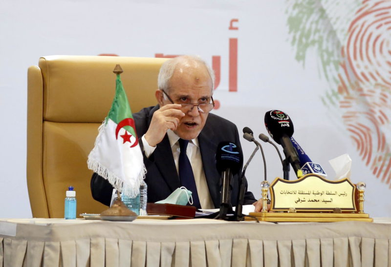 The National Liberation Front maintains power in Algeria after low turnout elections