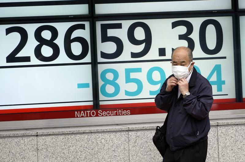 The Nikkei falls 3.29% on fears of a rise in interest rates in the US
