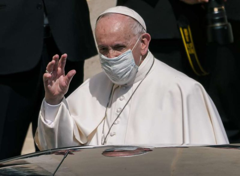 The Pope affirmed that private property is a secondary right and criticized the corruption of the unions