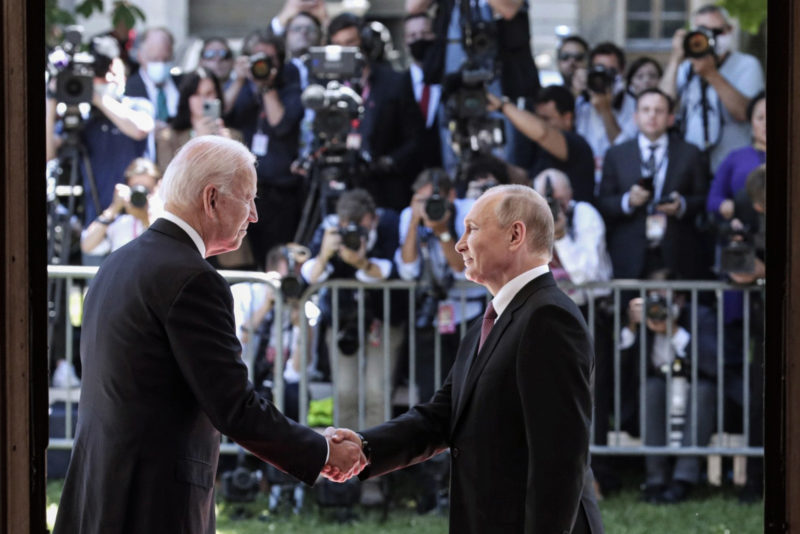 The Russian ambassador travels back to the US after the Biden and Putin agreement