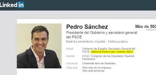 The 'Sorista lobby' of the Democratic NDI encourages Sánchez to meet with Biden in Brussels