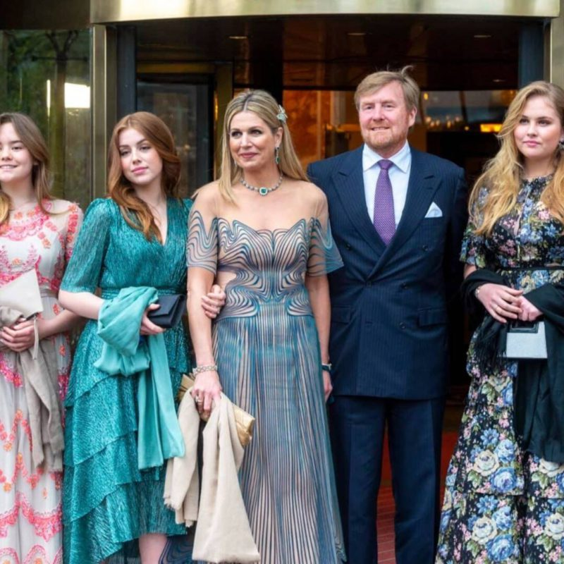 The eldest daughter of Queen Máxima gives up her impressive salary salary