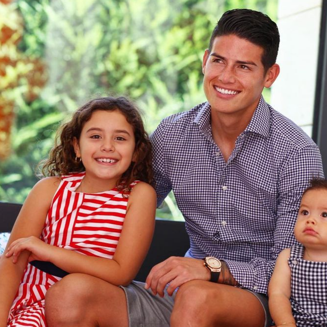The enviable celebration of Father's Day by James Rodríguez and Salomé