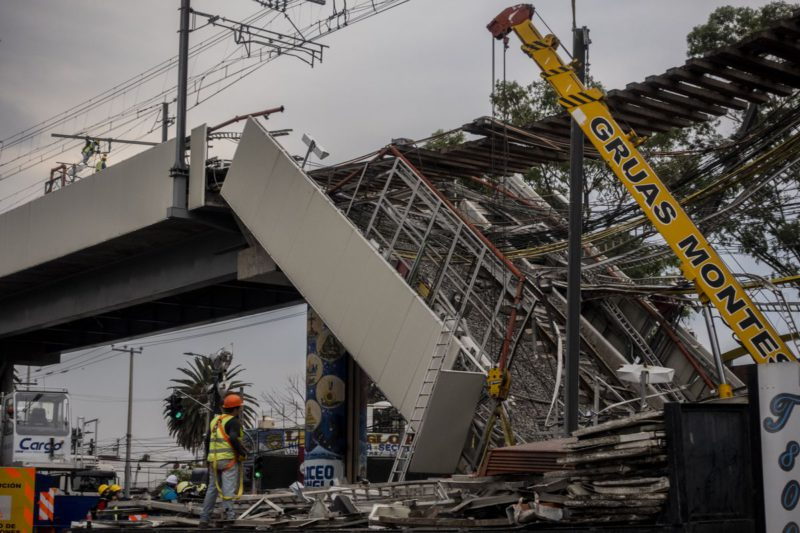 The expert opinion points out that construction failures caused the tragedy of Line 12 of the metro