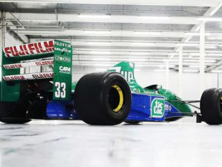The first car that Michael Schumacher drove in Formula 1 is sold