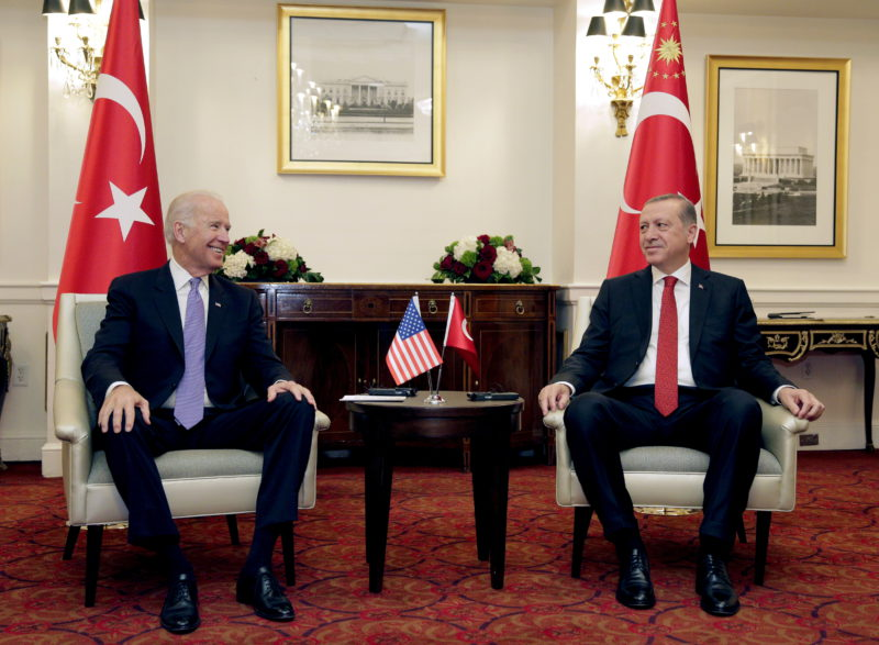 Turkey makes bobbin lace to try to redirect relations with the United States