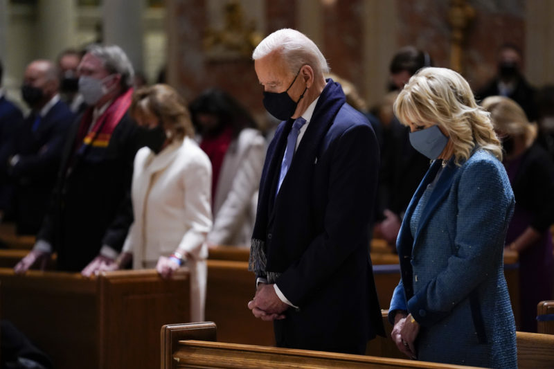 US bishops adopt document that may deny communion to President Biden for supporting abortion
