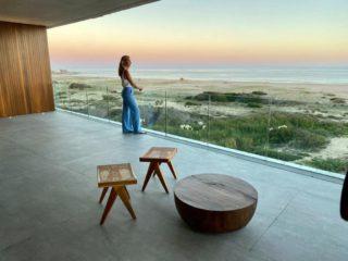 El Colette, un condominio frente al mar con una estética minimalista de hormigón y cristal, en Manantiales, a las afueras de José Ignacio, Uruguay. (Colette vía The New York Times)